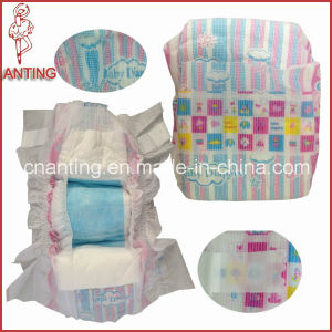 Fluff Pulp and Sap Baby Diaper for OEM Order pictures & photos