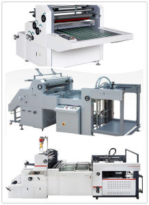 Automatic Water-Base Film Laminating Machine pictures & photos