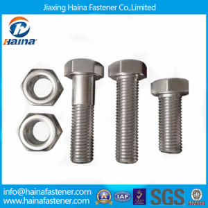 MOQ1000PCS Stainless Steel/Carbon Steel Bolt & Nut / Standard Fastener Hex Bolt pictures & photos