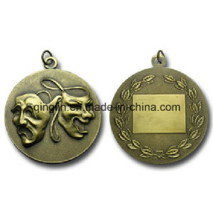 Custom Olive Branches Zinc Alloy Metal Medals pictures & photos