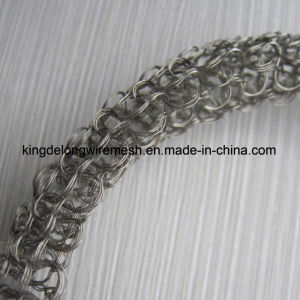 Stainless Steel AISI304 Knitted Mesh with Wire of 0.28mm pictures & photos