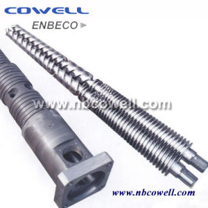 Conical Twin Screw Barrel for Extruder Machine Processing pictures & photos
