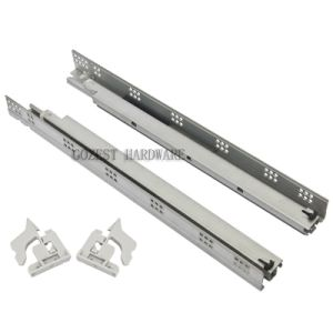 Full Extension Furniture Concealed Undermount Drawer Slide (B0301) pictures & photos