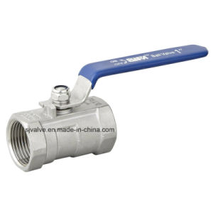 Stainless Steel 1PC Ball Valve 1000wog/Pn63 pictures & photos