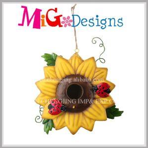 Garden Sunflower Metal Hanging Bird Feeder Wholesale pictures & photos
