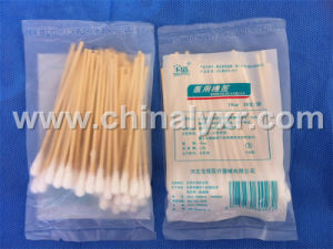 Medical Wooden Stick Cotton Buds/ Cotton Swab for Sterile pictures & photos
