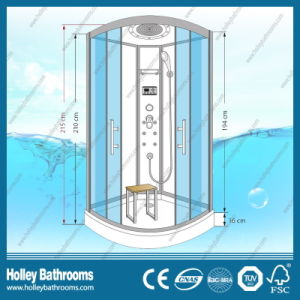 Popular Tempered Clear Door Glass Shower Room with ABS Shower Tray (SR213C) pictures & photos
