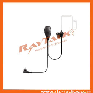 2 Wire Surveillance Acoustic Tube Earpiece for Motorola Cp040/Cp140/Cp200 pictures & photos
