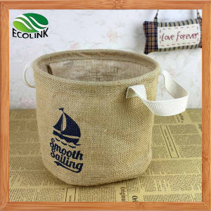 Eco-Friendly Jute Bag Storage Bag pictures & photos