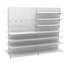 Supermarket Metal Rack Shelf for Display pictures & photos