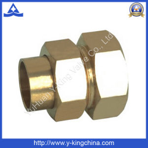 Full Size High Quality Brass Color Male Fitting (YD-6014) pictures & photos