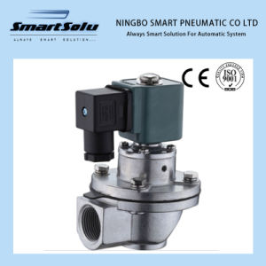 "G3/4"" Thread Right-Angle Pneumatic Solenoid Air Valve pictures & photos"