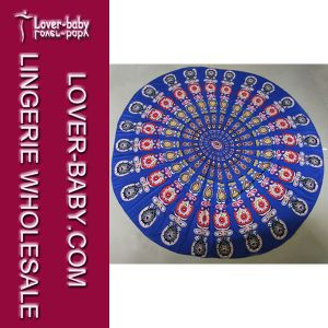Beach Mandala Round Towel Blanket (L38349-2) pictures & photos