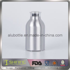 Empty New Aluminum Powder Bottle with Sifter Top