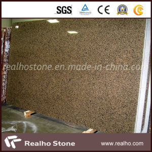 Polished Tropical Brown Granite Slab for Kitchen Countertop / Island Top