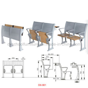 University Furniture School Chair Student Desk Public Office Chair (DX-901) pictures & photos