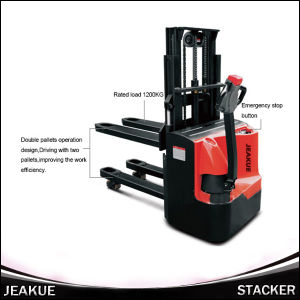 AC Motor Electric Stacker with Standard Mast pictures & photos