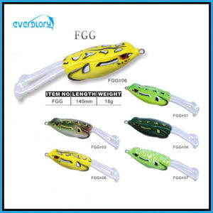 Yellow/Green Point New Frog Lure (140mm/18g) pictures & photos