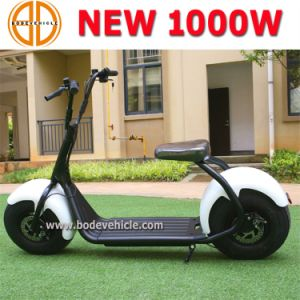 Bode 1000W Big Wheel Electric Moped Scooter Harley with Lithium Battery pictures & photos