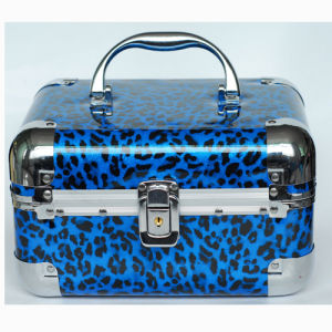 Lepard Jewelry Box with Aluminium Frame pictures & photos