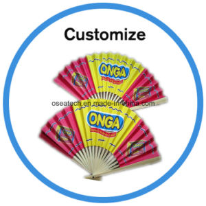 Custom Printed Folding Hand Fan pictures & photos