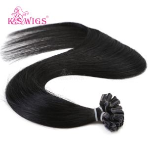 Keratin Remy Human Hair Extension Indian Hair pictures & photos
