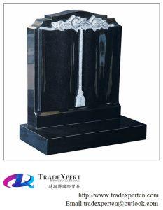 Shanxi Black Granite Upright Monument