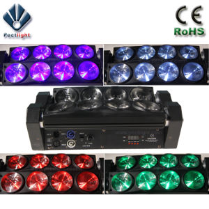 8X10W Rbgw LED Spider Beam Moving Head Light pictures & photos