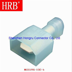 Hrb Male Cold Pressing Nylon Insulated Terminal pictures & photos