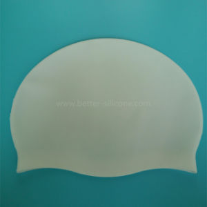 Printing Logo and Pattern Silicone Swim Cap pictures & photos