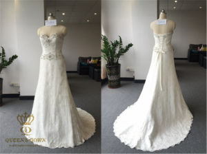 2016 New Bride Noble Bra Wedding Dress, Custom Made pictures & photos