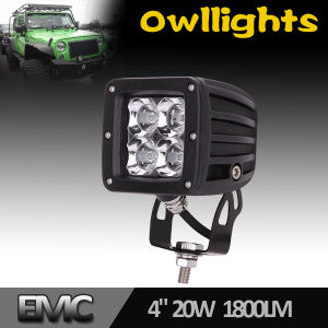 2016 CREE 20W Square LED Work Light, LED Work Lamp, LED Driving Worklight
