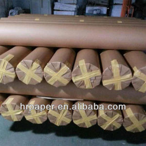 30GSM Tissue Paper on Rotary Calander/ Roller Heat Press Machine pictures & photos
