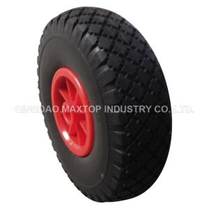 Factory Wheel Barrow Solid PU Foam Wheel pictures & photos