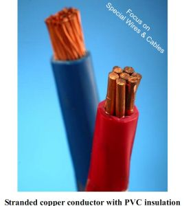 Flame Resistant PVC Insulation Electrical Wire pictures & photos