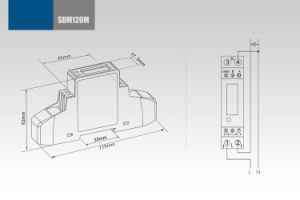 Single Phase Multifunction DIN Rail Modbus Energy Meter Sdm120-Modbus pictures & photos