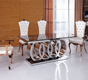 Most Popular Big Size 10 Seater Dining Table pictures & photos