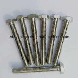 Inconel 600 N06600 2.4816 Ns3102 DIN933 Hex Head Bolt pictures & photos