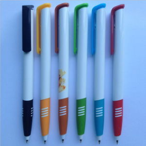 White Plastic Promotion Ball Point Pen (P3020A) pictures & photos