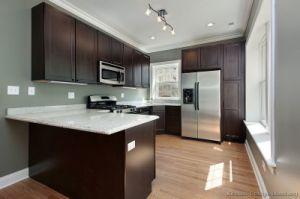 Kitchen Furniture Dark Espresso Kitchen Cabinets (DE24) pictures & photos