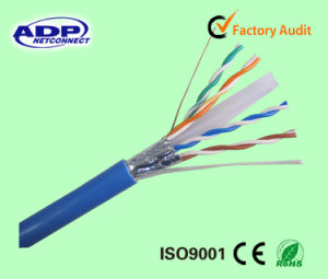 4 Pairs CAT6 FTP LAN Cable pictures & photos