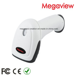 White USB Cable Wired Auto Scan Barcode Scanner with Stand/Bracket (MG-BS2243T) pictures & photos