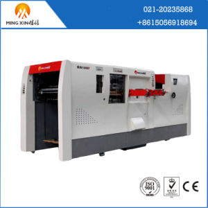 CE Standard Single Wall Board Cutter and Pressing Machine with Stripping