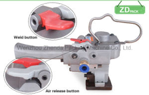 Cotton Bale Pneumatic Wedling Strapping Machine (XQH-19) pictures & photos