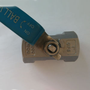 1PC Stainless Steel Threaded Ball Valves pictures & photos