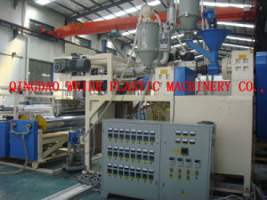 Single-Layer/ Multi-Layer Cast Film Line, CPP/CPE Film Extrusion Line pictures & photos