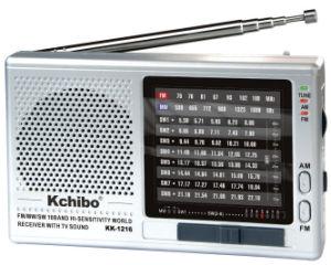 Khcibo Kk-1216 FM/TV/MW/Sw1-8 10 World Band Radio
