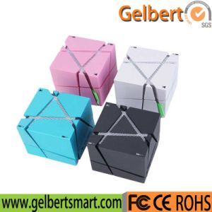Universal Cube LED HiFi Stereo Bluetooth Speaker Whith Wireless pictures & photos
