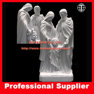 Holy Family Marble Sculpture Jesus Marble Statue Figure Sculpture pictures & photos