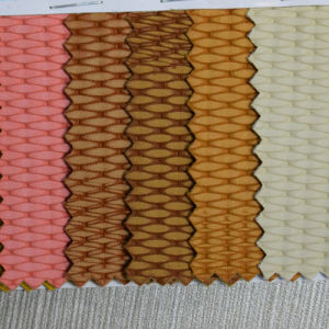 2016 Colorful Woven Pattern Microfiber PU Leather for Shoe (HST053) pictures & photos